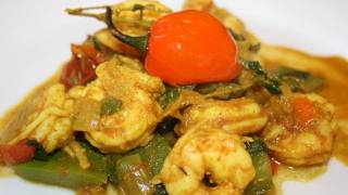 How To Make Curry Shrimp.