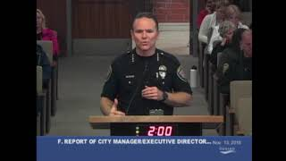 Oxnard City Council - Police Chief Report on Borderline Bar and Grill Shooting