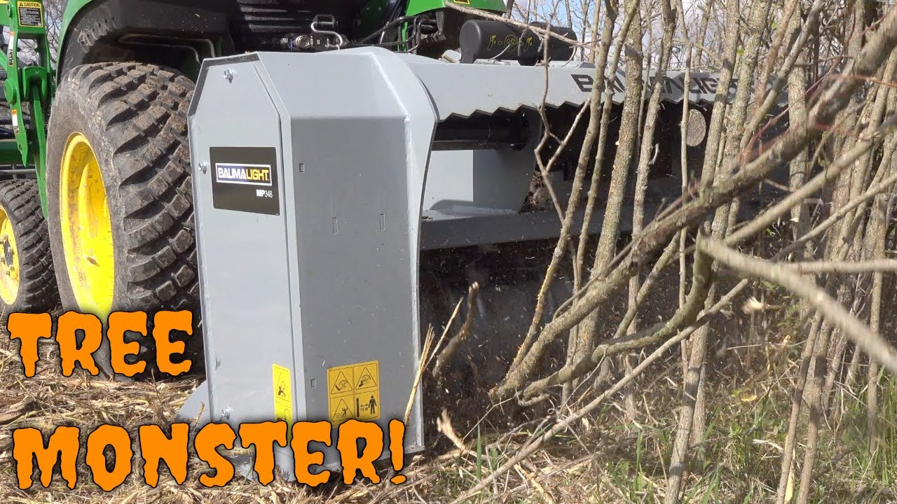 Download UNLEASH THE FURY! Brush Mulcher in Action!