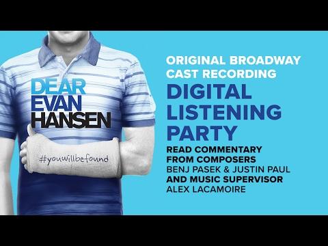 Original Broadway Cast Recording Special Commentary | DEAR EVAN HANSEN