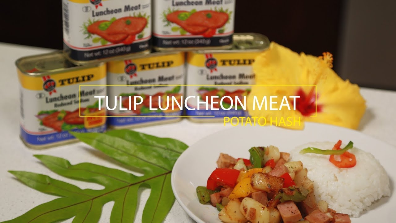 Wikibites: Tulip Luncheon Meat Potato Hash