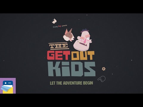 The Get Out Kids: Apple Arcade iPad Gameplay Walkthrough Chapters 1 2 3 4 5 (by Frosty Pop Games)