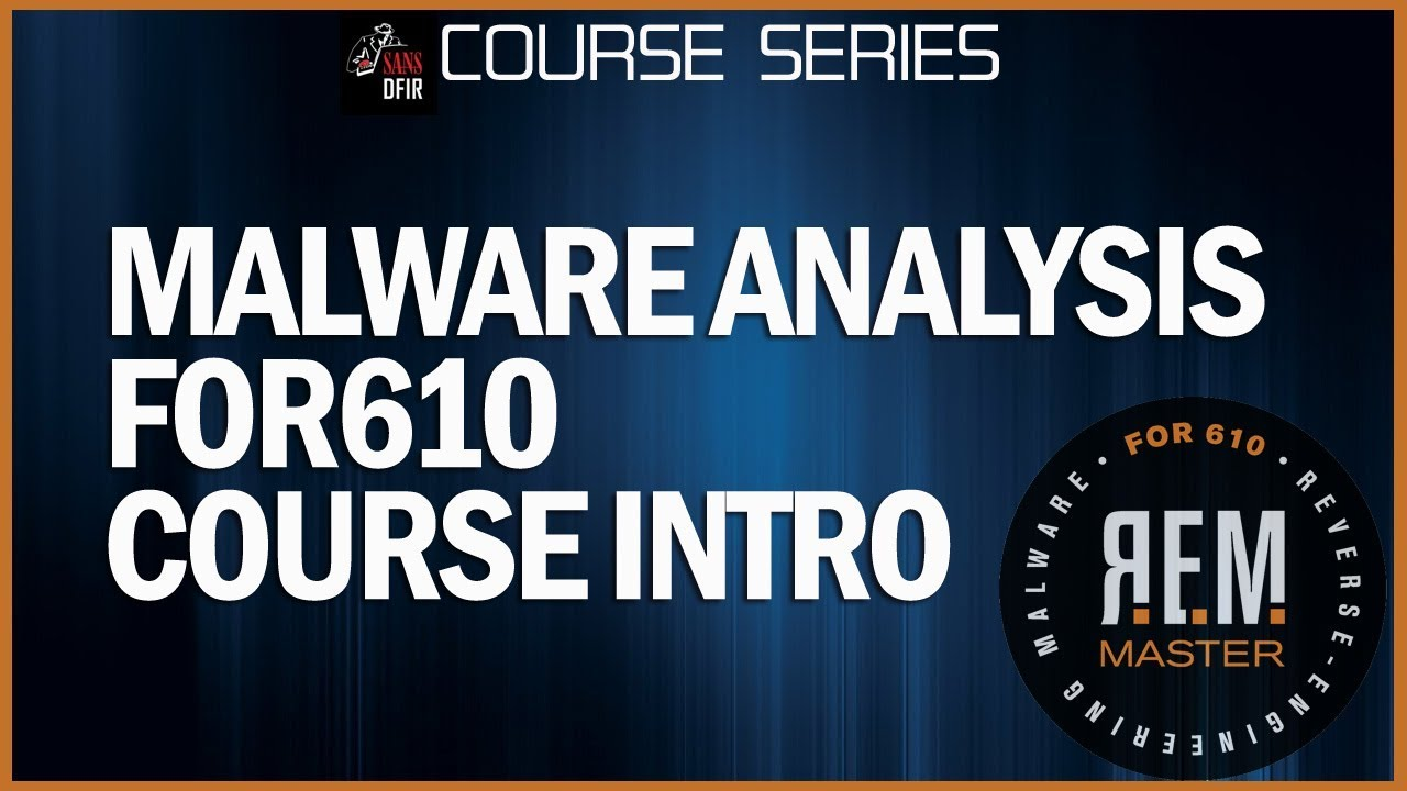 Reverse-Engineering Malware: Malware Analysis Tools and