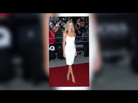 White Hot Rosie Huntington-Whiteley Dismisses Jason Statham Split Rumours At GQ Men Of The Year