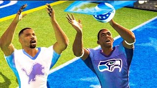 TOUCHDOWN OF THE YEAR! - NFL TOUR | SEAHAWKS VS LIONS