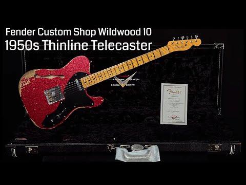 Fender Custom Shop Wildwood 10 1950s Thinline Telecaster  •  Wildwood Guitars
