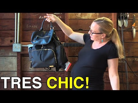 Skip Hop Chelsea Downtown Chic Diaper Backpack Unboxing and