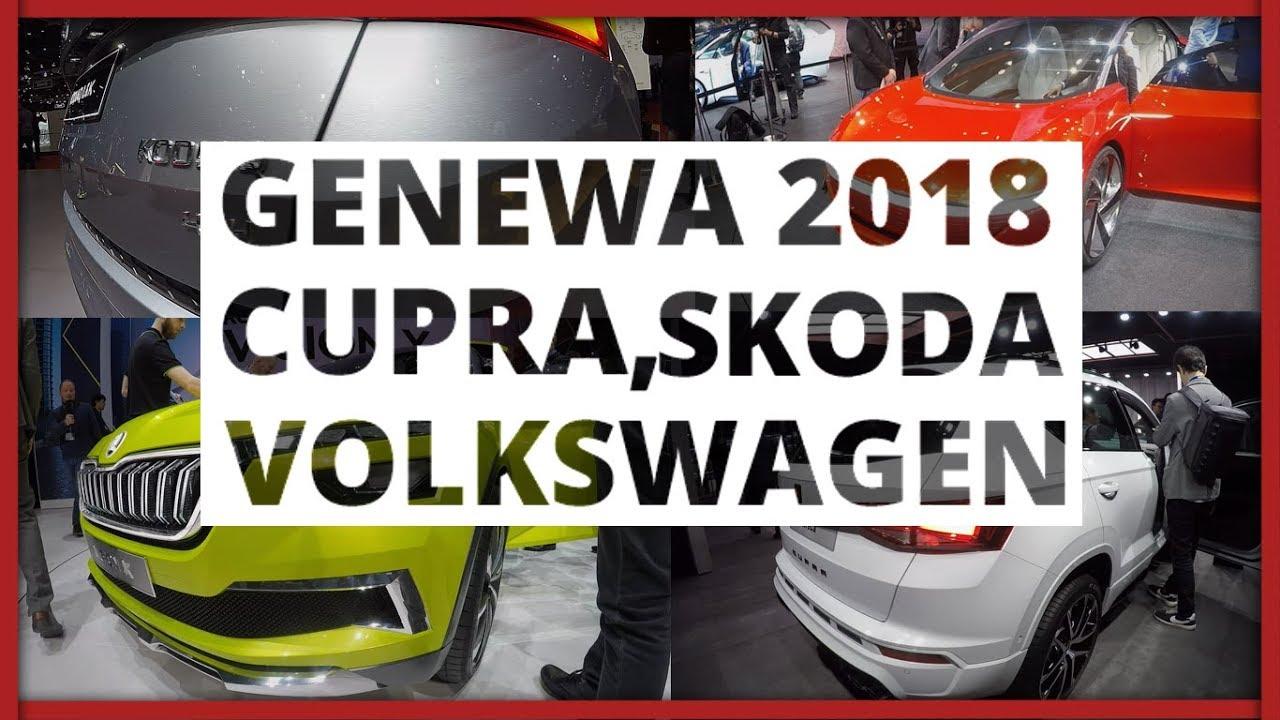 Genewa 2018 – Cupra, Skoda, Volkswagen
