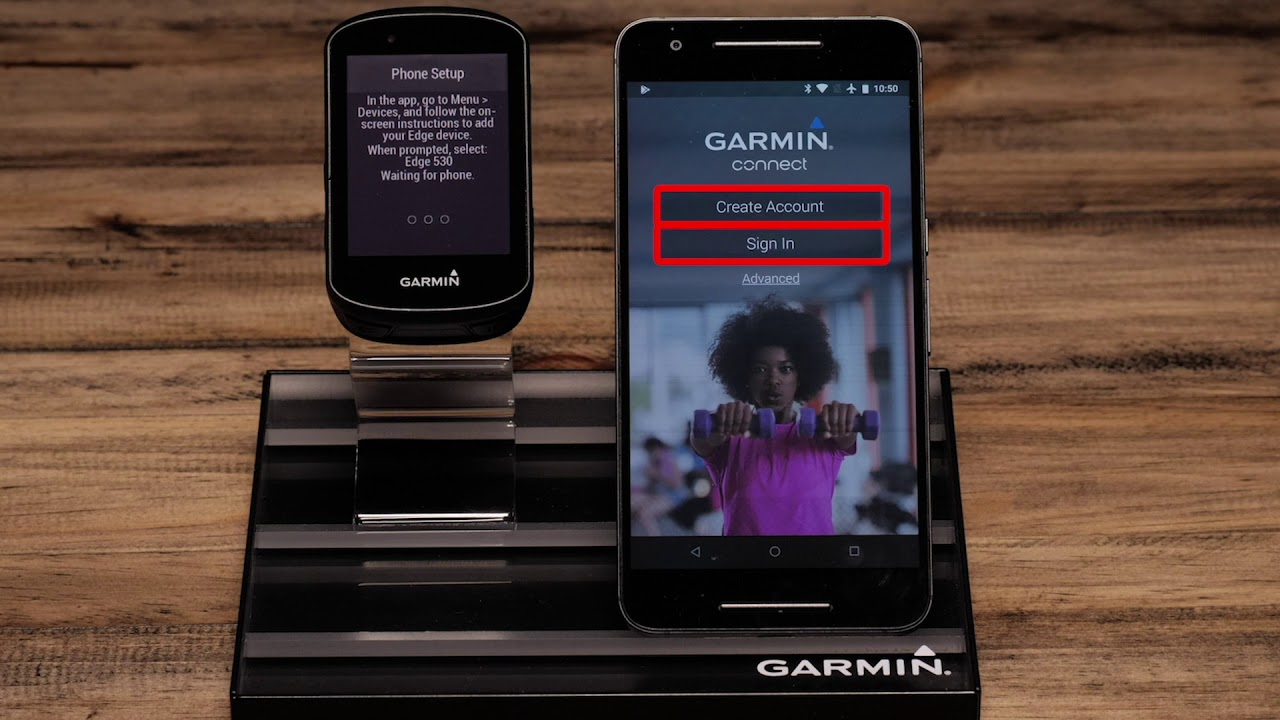 Support: Pairing an Edge® 530 with the Garmin Connect™ App (Android™)