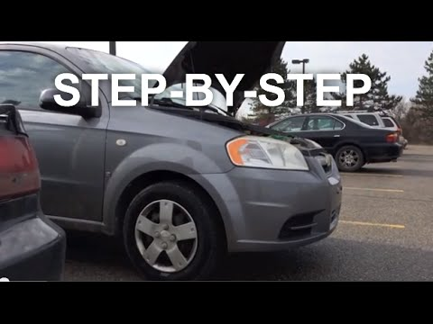 Chevy Aveo Alternator Replacement Change Step By Step Youtube