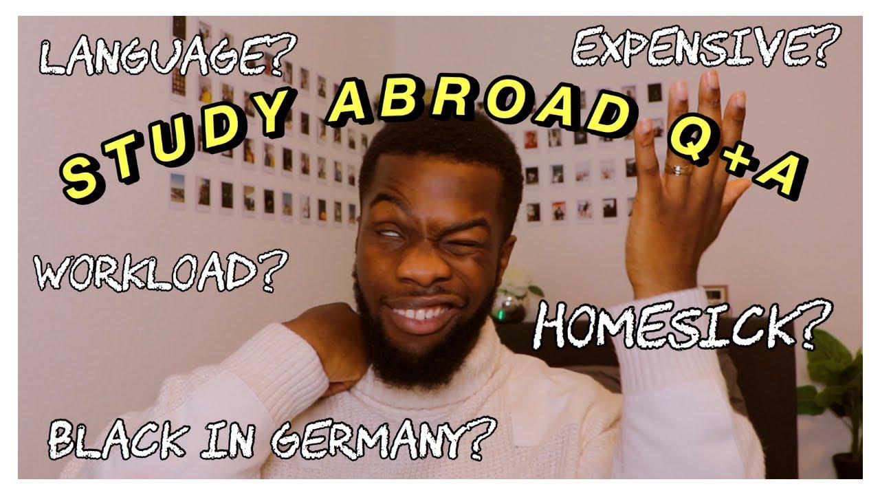 Black Student in Germany | Study Abroad Q+A