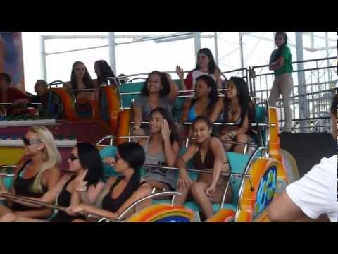 Jersey Shore filming on Casino Pier