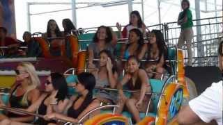 Jersey Shore filming on Casino Pier