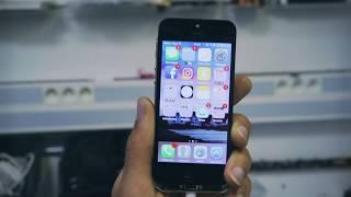 Réparation du Problème réseau iPhone 5S   . 100%