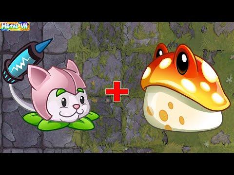 Download 挽植物大戰僵尸2 | Super Plants Max Power Up  [ Cattail vs Toadstool ]