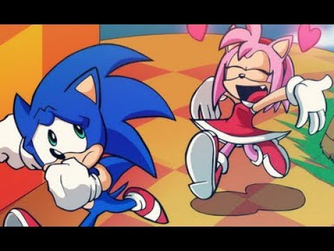 Mugen - Amy Vs Sonic