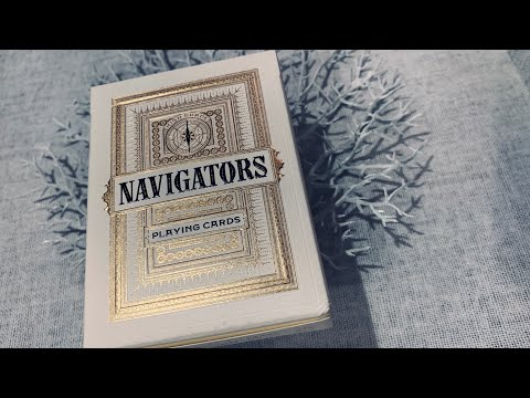 Navigators Playing Cards - Theory11 - Deck Review!