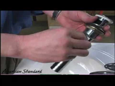 American Standard Bathroom Faucet Installation Reliant 3 YouTube