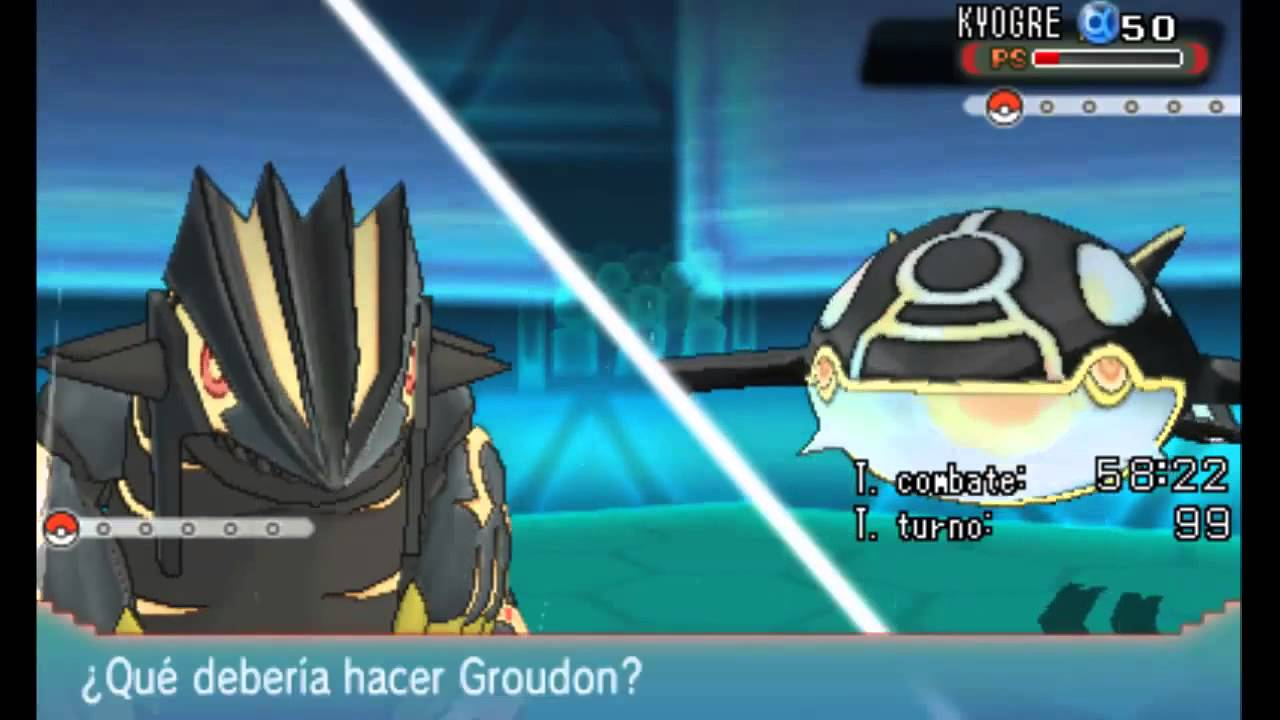 groudon primigenio vs kyogre primigenio ruza youtube