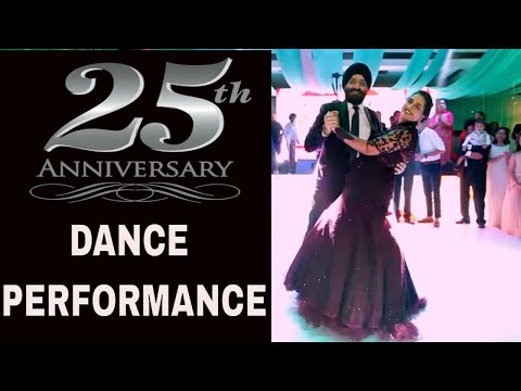 Beautiful Dance By Couple On 25th Anniversary On Bollywood Songs | Choreography By Step2Step