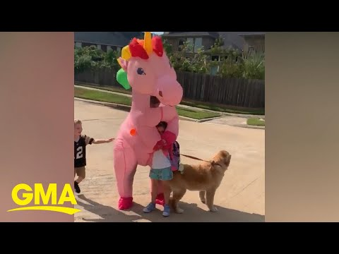 Rachel Lutzker - When your Mom picks you up from the school bus dressed as a Unicorn