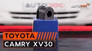 Manutenção Toyota Camry CV11 - guia vídeo