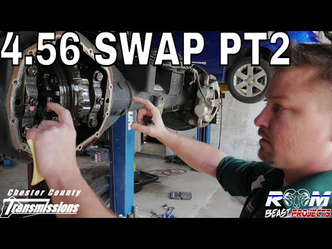 OFF TO THE RACES! 2017 Ram 4.56 Gear Swap Prep AAM 11.5 & 9.25 Differentials