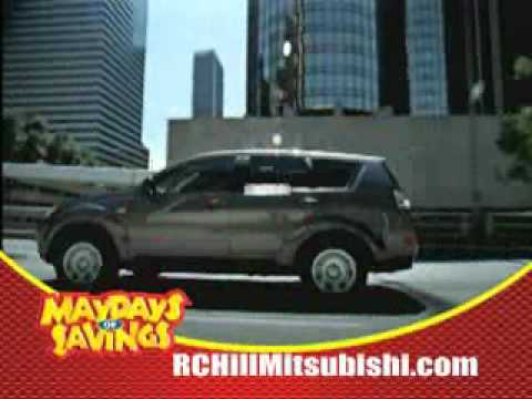 rc hill mitsubishi may 2009 campaign - youtube