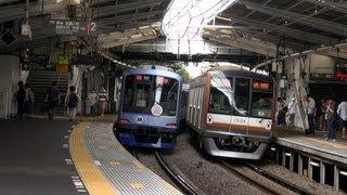 東京メトロ10000系 東急東横線営業運転 横浜市内 【Tokyo Metro 10000】