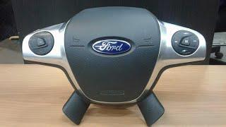Как легко снять подушку безопасности руля Ford focus 3.