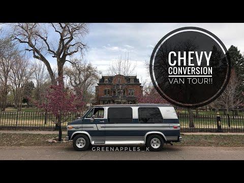 1991 Chevy G20 Conversation Van Tour!!