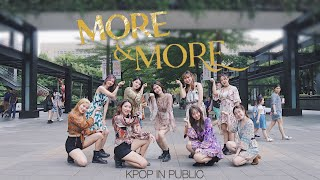 [KPOP IN PUBLIC CHALLENGE ] TWICE (트와이스) - MORE \u0026 MORE Dance Cover By Queenie From Taiwan