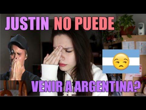 JUSTIN NO PUEDE VENIR A ARGENTINA? - Mica Suarez