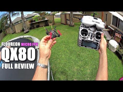FLOUREON QX80 Micro FPV Drone - Full Review - [Unbox, Inspection, Setup, Flight Test, Pros & Cons]
