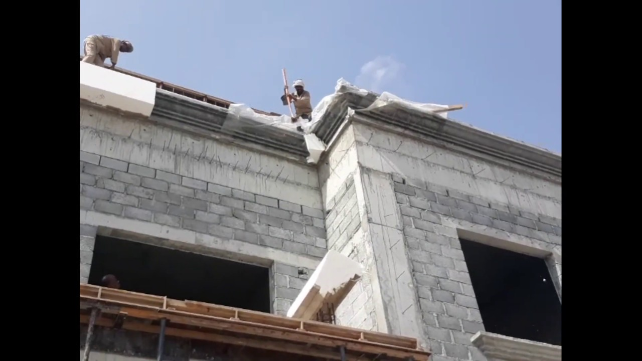 How To Work On Parapet Wall Design Form Work Youtube