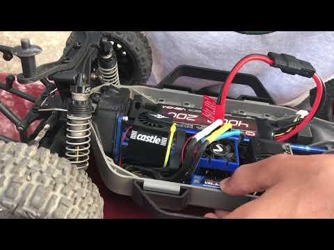Resetting a traxxas vxl-3s ESC factory mode