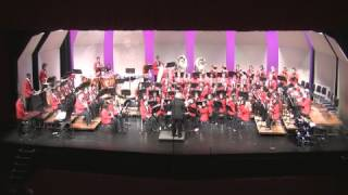 The Brockton High School Wind Ensemble performs the Huckleberry Fin...