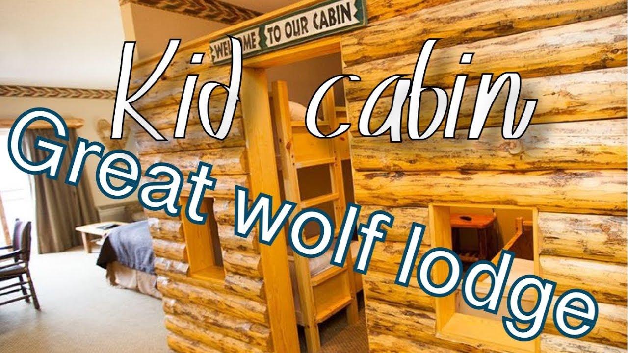 Kid Cabin: GREAT WOLF LODGE WASHINGTON