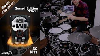 Roland TD-11 Rock Classics Sound Edition by drum-tec