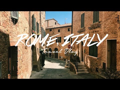 EXPLORING ANCIENT ROME! Travel Vlog, Italy