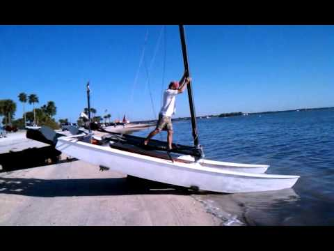 Hobie 16 stepping of the mast super fast youtube hobie 16 stepping of the mast super fast publicscrutiny Images