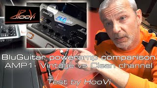 BluGuitar AMP1 –Poweramp VINTAGE vs CLEAN #deeflexxrecording