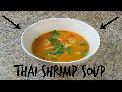 Easy Thai Shrimp Soup – Recipe!