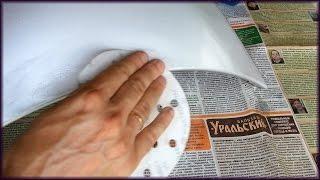 Как убрать коцки, косяки на бампере если слазит краска после китайцев