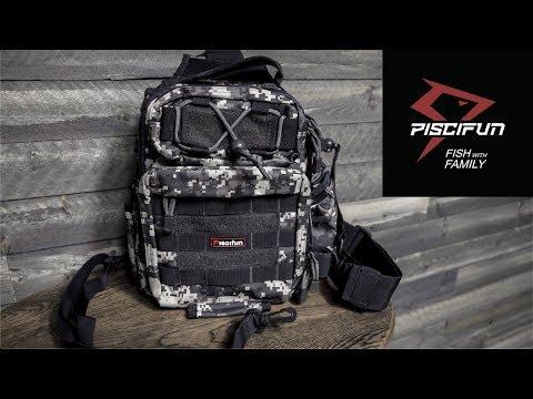 Piscifun Waterproof Sling Tackle Bag | Unboxing