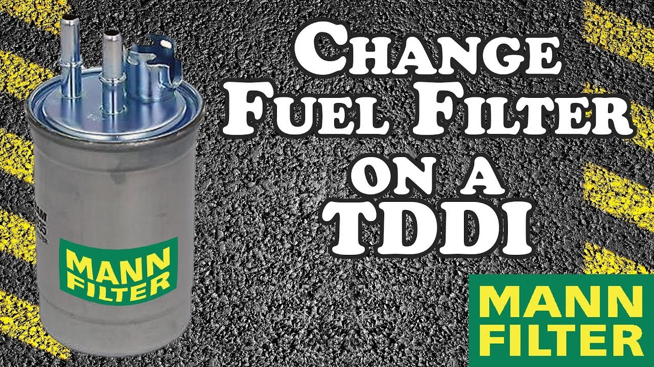 how to change fuel filter - 2001 ford focus tddi - youtube  youtube