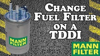How to Change Fuel Filter - 2001 Ford Focus TDDI