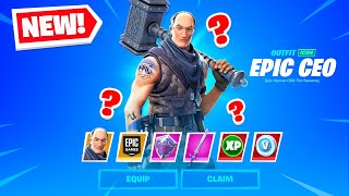 EPIC GAMES *CEO* in Fortnite!?