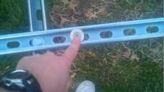 my diy unistrut or super strut frame of the new solar tracker