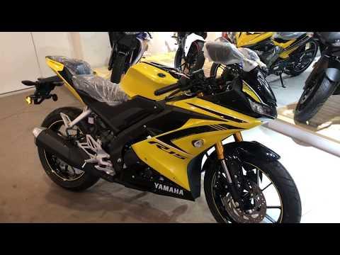 Yamaha R15 Malaysia 2018 walkaround (Yellow)